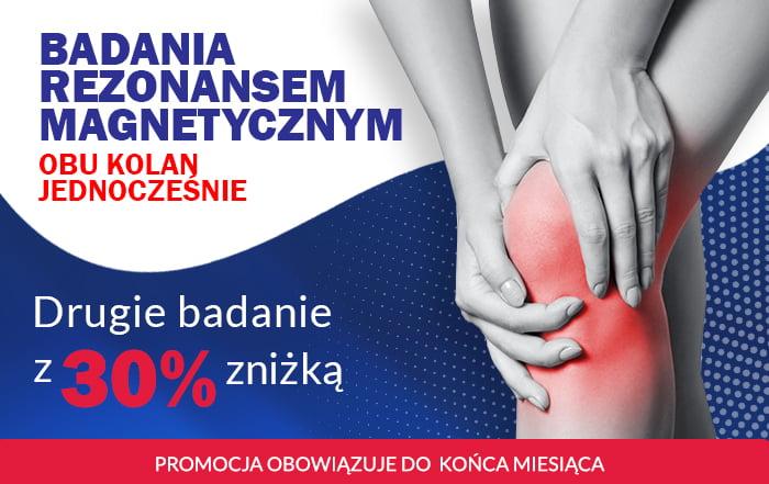 Badanie rezonansem magnetycznym kolan Rex Medica Warszawa