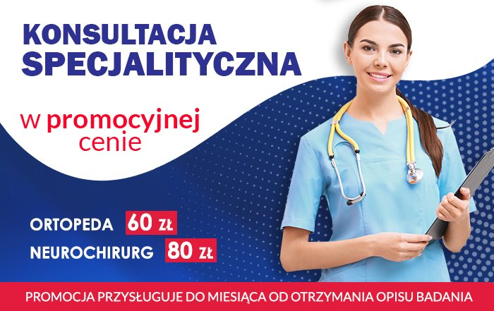 Konsultacja specjalistyczna w promocyjnej cenie Rex Medica
